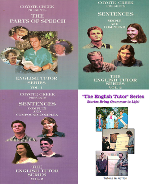 The English Tutor Three Volume Series