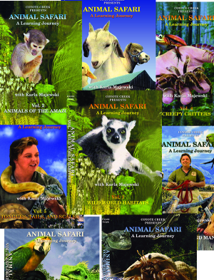 Animal Safari Eight Volume Series