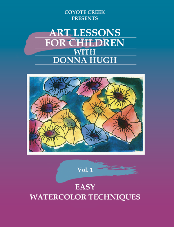 art lessons hp Art Lessons for Children - Vol. 1 Easy Watercolor Techniques