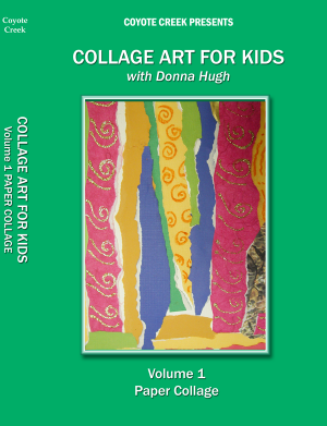 Collage Art for Kids Four Volume Series