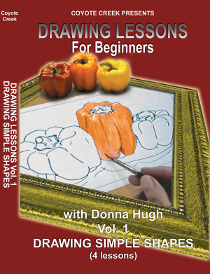 Drawing Lessons for Beginners – Vol. 1<br/>Drawing Simple Shapes